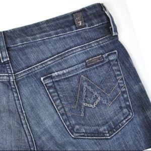 7 for All Mankind Jeans A Pocket Boot Dark wash
